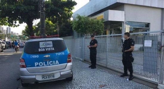 Agência do Banco do Brasil é arrombada na Agamenon Magalhães