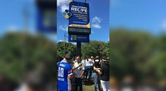 Ação na área central do Recife lembra importância do voluntariado