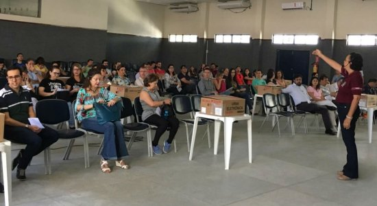 TRE realiza treinamento dos mesários que trabalharão nas eleições 2018