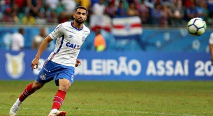 Gilberto marcou o primeiro gol dos baianos