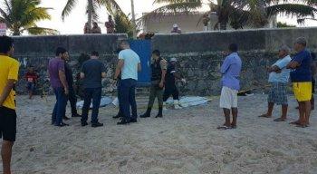 Um dos crimes registrados foi um triplo homicídio que ocorreu na Praia de Gaibu, no Cabo de Santo Agostinho