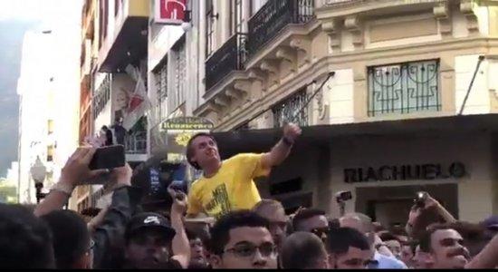 Candidatos à Presidência da República repudiam agressão a Bolsonaro