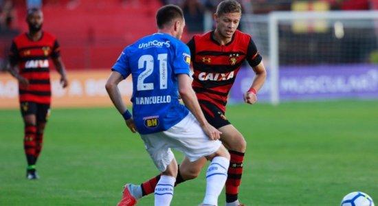 Em tarde de Magrão, Sport e Cruzeiro ficam no 0 x 0 na Ilha do Retiro