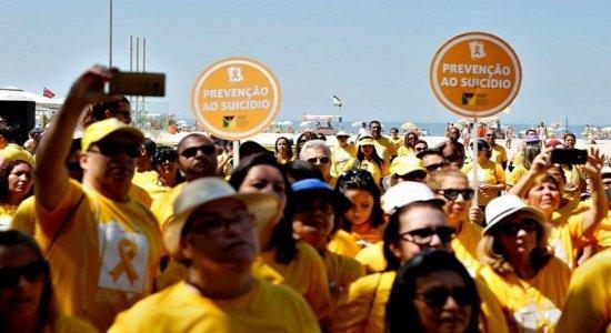 Setembro amarelo começa com ações de prevenção ao suicídio em PE