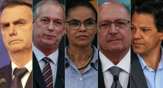 Datafolha: Bolsonaro tem 32% das intenções de voto; Haddad tem 21%