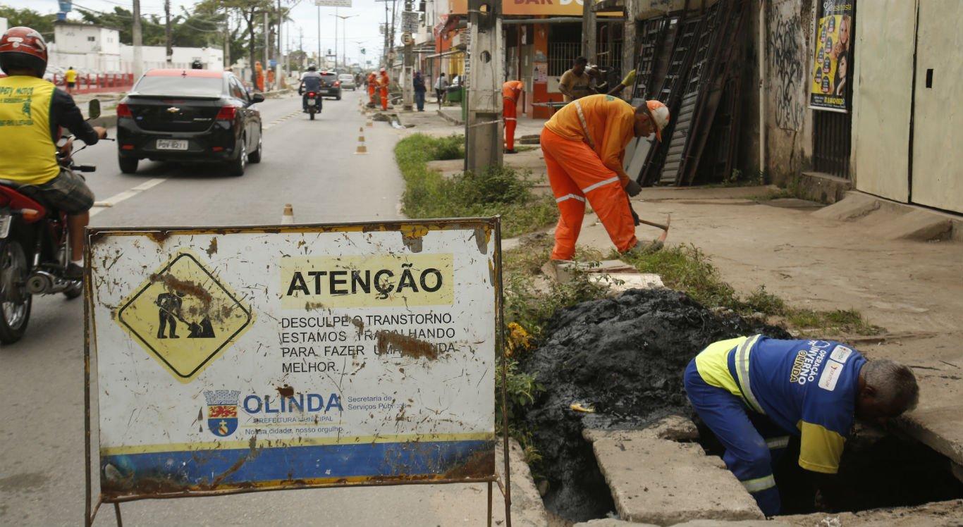 Av. Presidente Kennedy, em Olinda, recebe pacote de ações emergenciais
