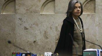 substituída pelo ministro Dias Toffoli.  Cármen Lúcia deixa também o posto de presidente do Conselho Nacional de Justiça