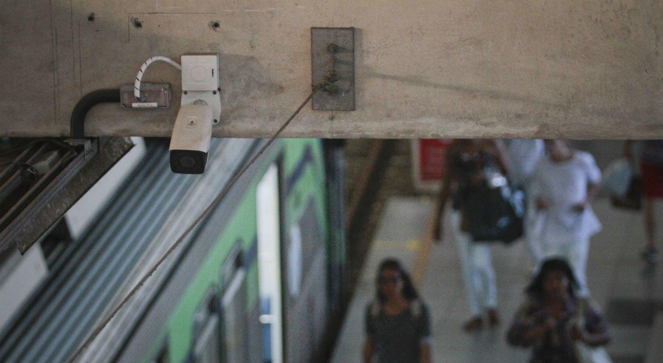 CBTU instala câmeras nas estações para coibir ações criminosas