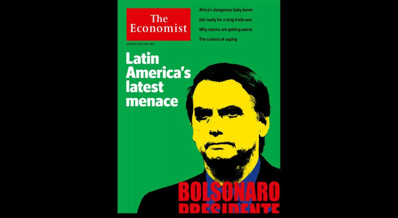 The Economist considera Bolsonaro como 'ameça à democracia brasileira'