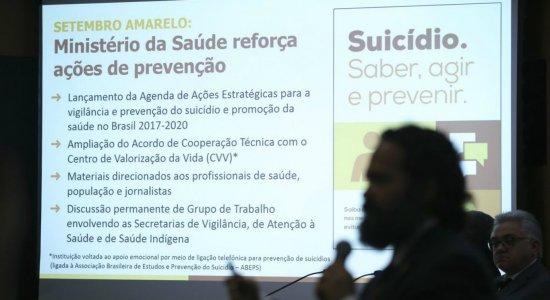 Brasil registra um suicídio a cada 46 minutos, aponta pesquisa