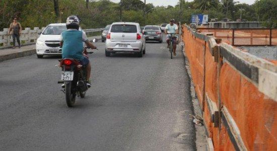 Ponte do Janga será interditada durante final de semana para obra