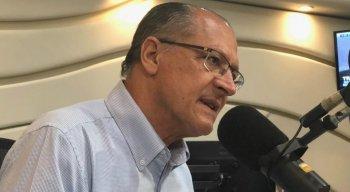 Geraldo Alckmin na Radio Jornal