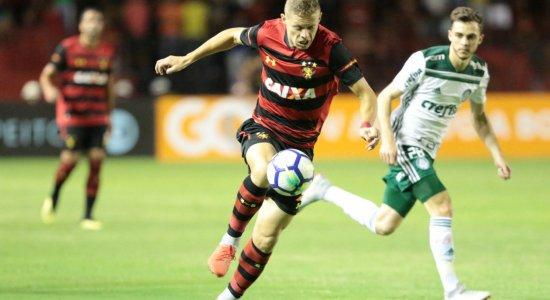 Após falha na defesa, Sport perde para o Palmeiras na Ilha do Retiro