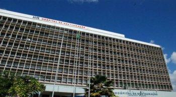 Vítima passou por um procedimento cirúrgico no Hospital da Restauração, no Recife