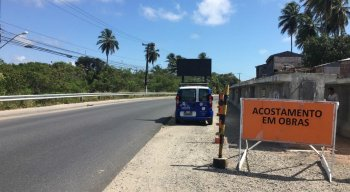 A Ponte do Janga será interditada para veículos e pedestres