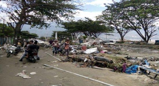 Terremoto e Tsunami matam mais de  380 na Indonésia