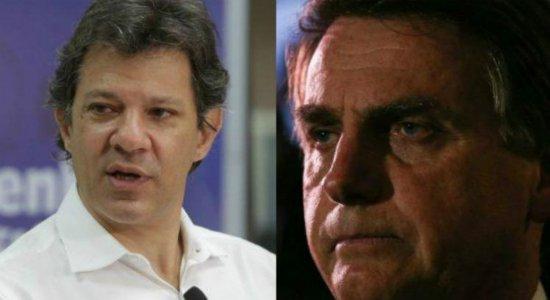 Em Pernambuco, Haddad cresce e lidera com 41% na pesquisa JC/Ibope/TV Globo