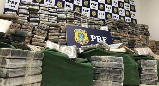 PRF faz maior apreensão de cocaína no Nordeste com pernambucano