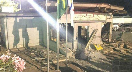Agência do Banco do Brasil é alvo de explosão em Saloá