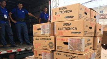 Mais de 23 mil urnas serão utilizadas no primeiro turno em Pernambuco