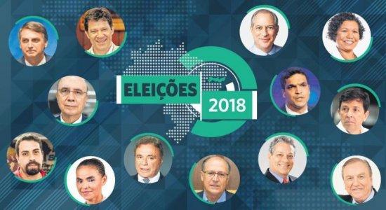 Haddad lidera votos válidos em Pernambuco, diz JC/Ibope/TV Globo
