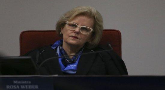Em pronunciamento, Rosa Weber defende tolerância e segurança da urna