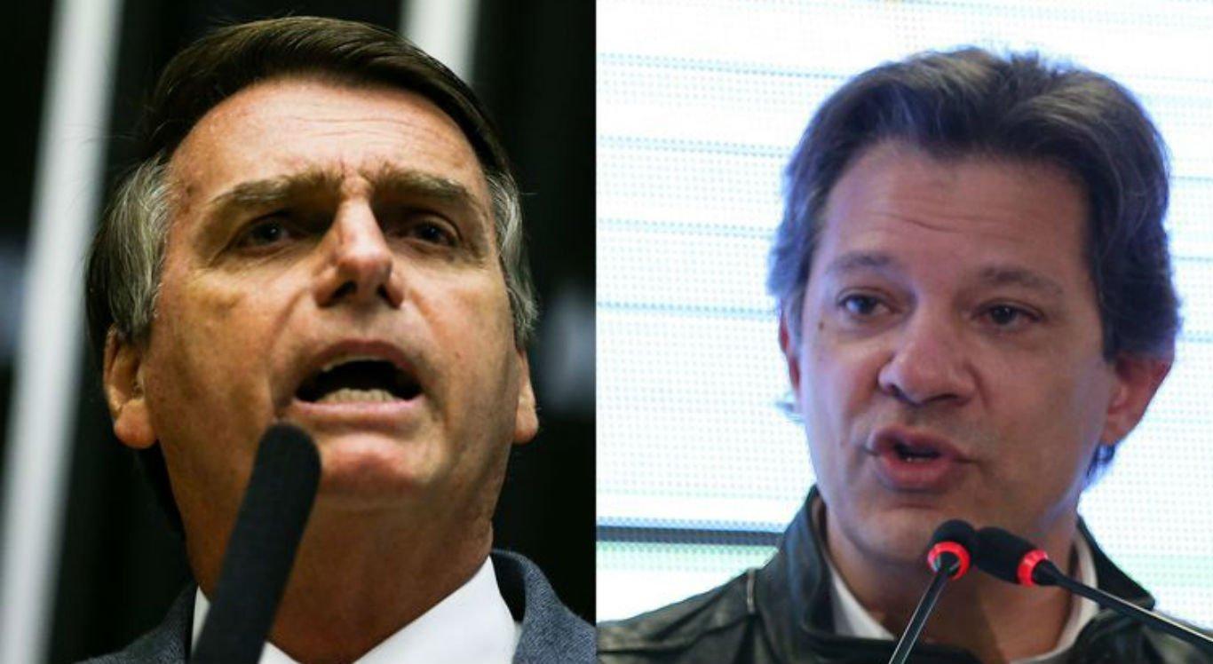 Veja as propostas de Bolsonaro e Haddad para a política externa ... 2fdefa566f87f