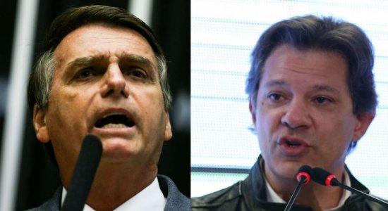 Veja as propostas de Bolsonaro e Haddad para a política externa