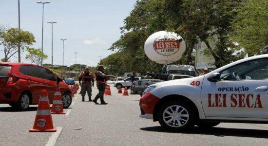 Com a reabertura de bares e restaurantes, Operação Lei Seca retoma atividades em Pernambuco
