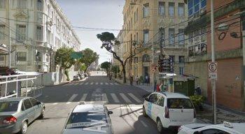 A agressão ocorreu quando o jovem ia numa das barraquinhas da  Avenida Marquês de Olinda