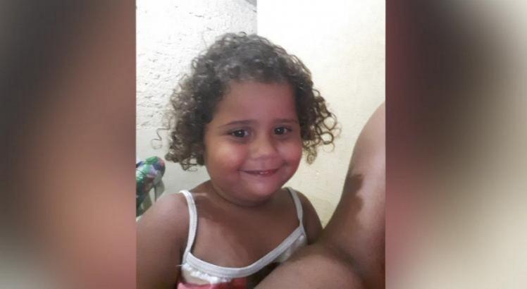 Geovana Maria da Silva foi socorrida para o Hospital da Restauração, mas não resistiu ao ferimento