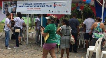Ação realizada no Parque da Jaqueira reuniu pacientes e profissionais de saúde do IMIP
