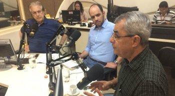Luciano Bivar (PSL) e Bruno Ribeiro (PT)