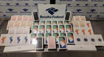 Os iPhones têm origem paraguaia. Eles devem ir a leilão público e eletrônico