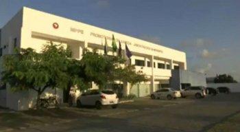 O caso aconteceu na área externa do Ministério Público de Pernambuco (MPPE), em Jaboatão