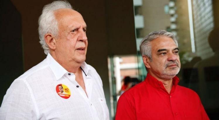 Fernando haddad agradece apoio de Jarbas Vasconcelos