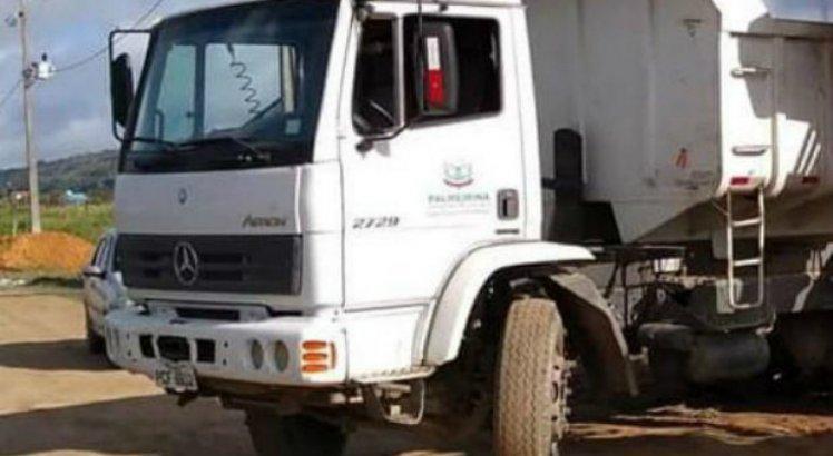 Caminhão do lixo de Palmerina é roubado em Iati