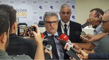 Desembargador e presidente do TRE, Luiz Carlos Figueiredo