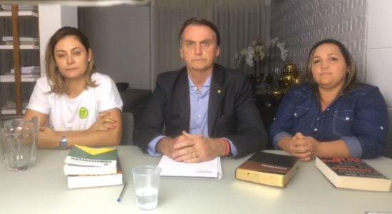 Não podíamos mais continuar flertando com o socialismo, diz Bolsonaro após vitória