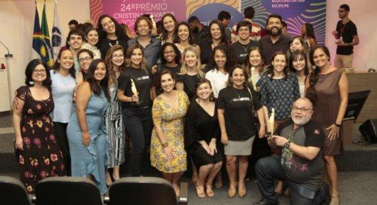 SJCC fatura seis categorias do 24º Prêmio Cristina Tavares de Jornalismo