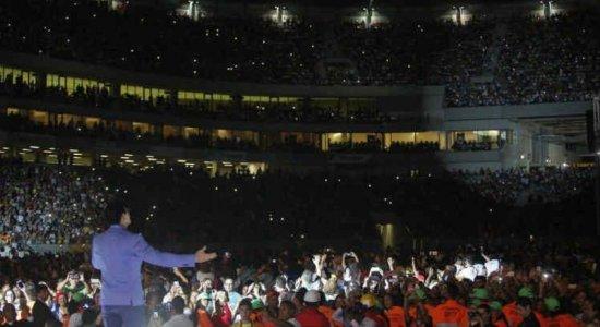 Obra de Maria comemora 28 anos com shows na Arena de PE