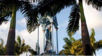 A festa começa no dia 29 de novembro e segue até o dia 8 de dezembro, dia de Nossa Senhora da Conceição
