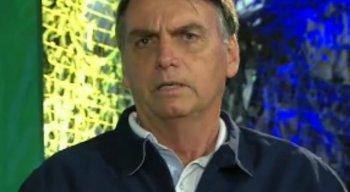 Bolsonaro disse ainda que a questão ideológica é grave no país que precisa ser enfrentada