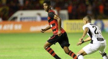 Gabriel marcou o gol da vitória do Sport diante do Ceará