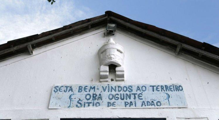 Terreiro de Pai Adão está localizado no bairro de Água Fria