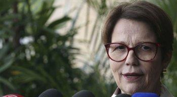 Futura ministra da Agricultura, a deputada federal Tereza Cristina (DEM-MS)