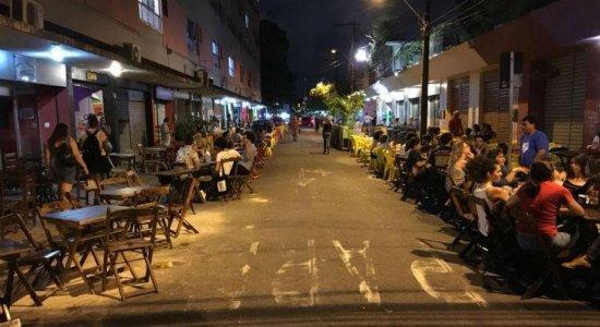 Bares da Mamede Simões são reabertos após cinco dias de interdição
