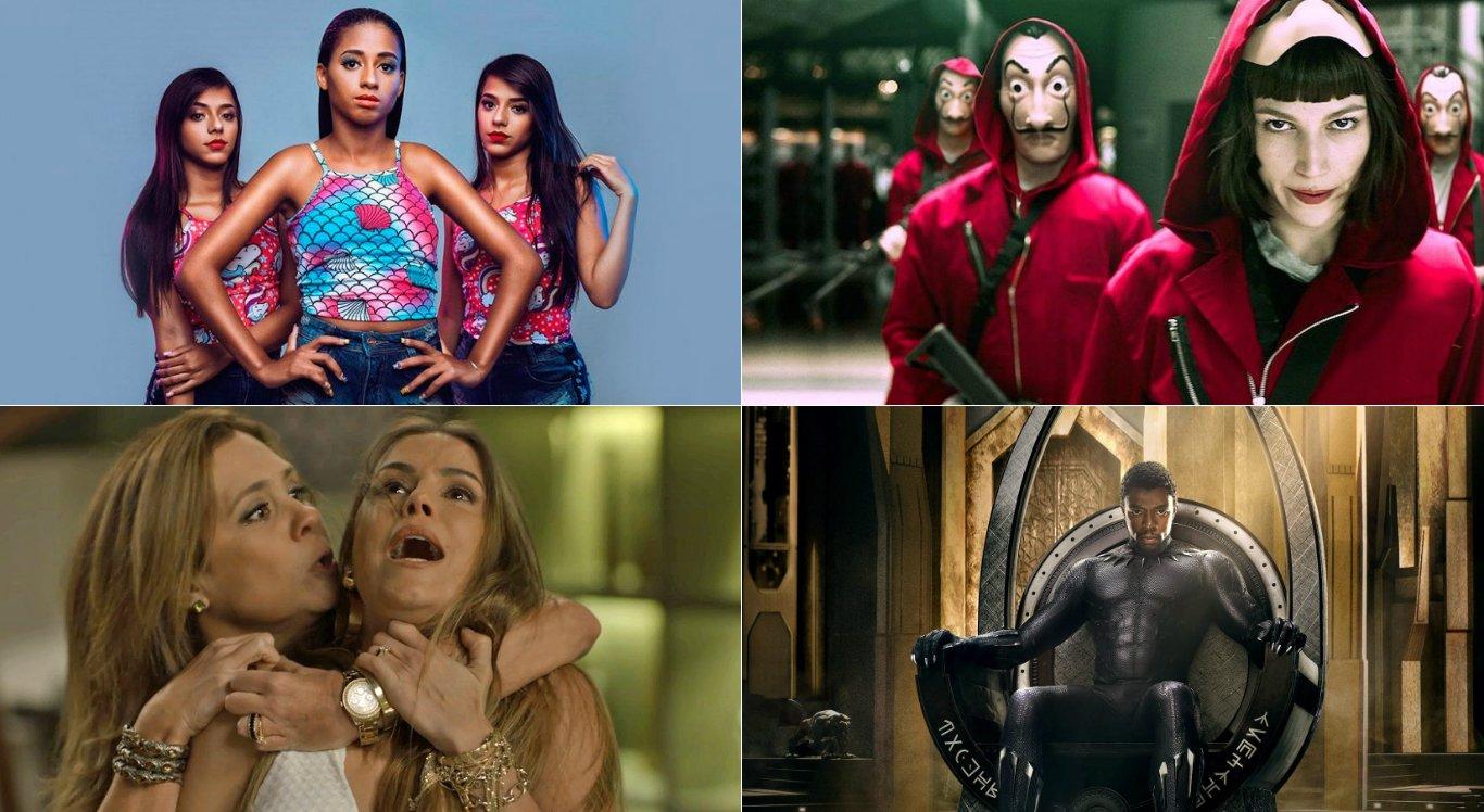 Vote e escolha os melhores do ano na TV, música e internet de 2018