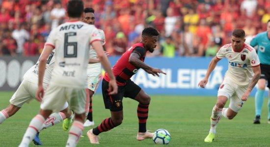 Mesmo com um a mais, Sport perde para o Flamengo na Ilha do Retiro