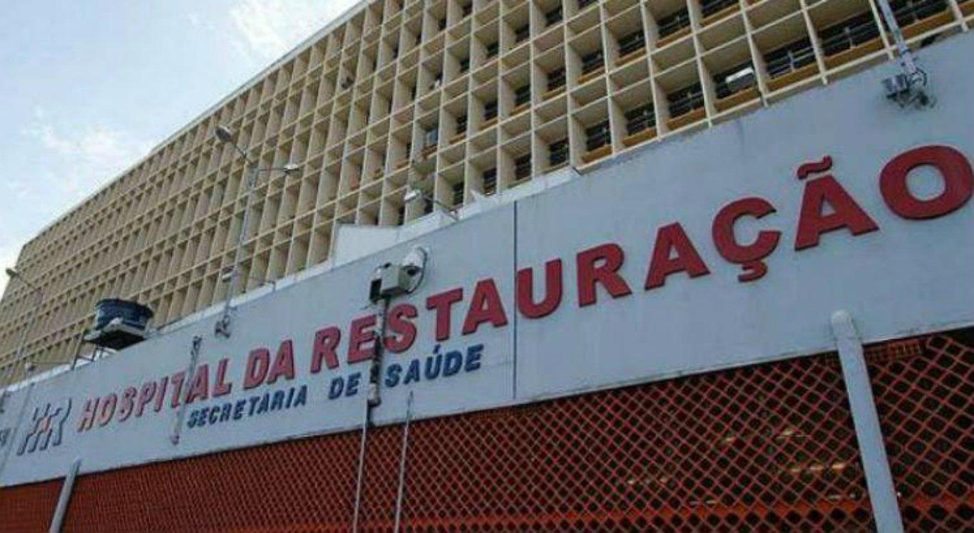 A vítima está internada no HR, na área central do Recife